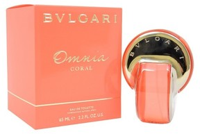 Omnia Coral by Bvlgari Eau de Toilette Women's Spray Perfume - 2.2 fl oz