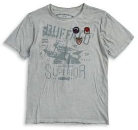 Buffalo David Bitton Boy's Graphic Patch Tee