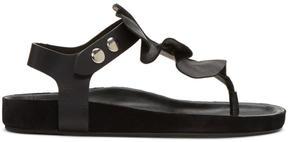 Isabel Marant Black Leakey Sandals