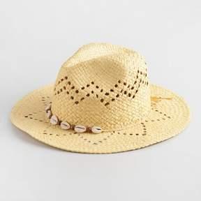 World Market Puka Shell Rancher Hat