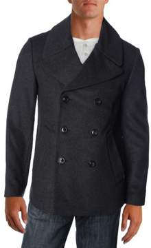 Marc by Marc Jacobs Mens Wool Double Breasted Pea Coat