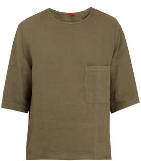 Barena VENEZIA Crew-neck linen T-shirt