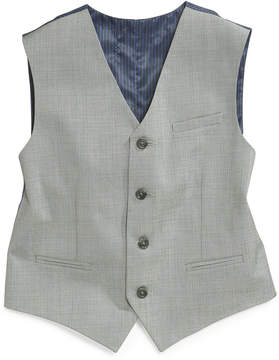 Calvin Klein Sharkskin Deco Vest, Big Boys (8-20)