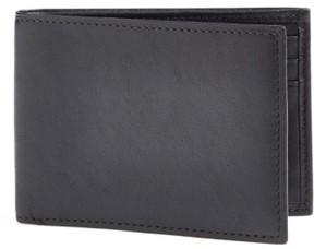 Bosca Men's Small Bifold Wallet - Black