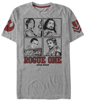 Fifth Sun Star Wars Heather Gray 'Rogue One' Square Up Tee - Men