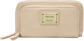 Nicole Miller Nicole By Penelope Zip Around Wallet