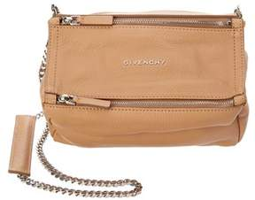 Givenchy Small Pandora Leather Chain Shoulder Bag.