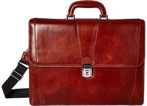 Bosca - Double Gusset Brief Briefcase Bags
