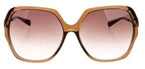 Diane von Furstenberg Alexandra Oversize Sunglasses