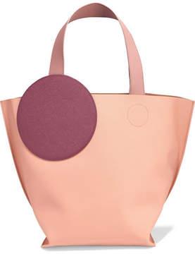 Roksanda Eider Color-block Textured-leather Tote - Blush