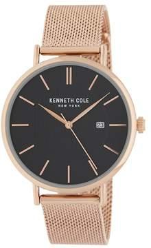 Kenneth Cole New York Men's Mesh Strap Watch, 40mm
