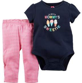Carter's Two-Piece 'Always Mommy's Sweetie' Bodysuit and Pants