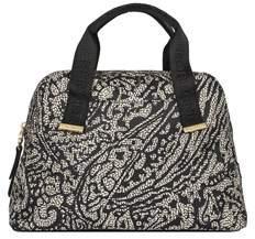 Borbonese Women's Black Polyester Handbag.