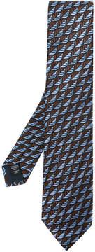 Ermenegildo Zegna printed style tie