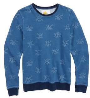Boden Mini Castaway Skulls Sweatshirt