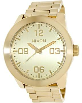 Nixon Men's A346-502 Corporal Stainless Steel Watch, 48mm