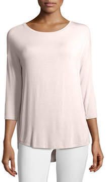 Neiman Marcus Majestic Paris for Soft Touch Boat-Neck Top