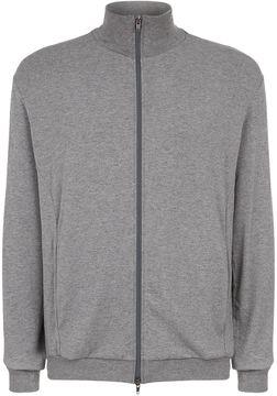 Lot 78 High Neck Zip-Up Sweatshirt