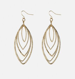 Avenue Layered Marquise Drop Earrings