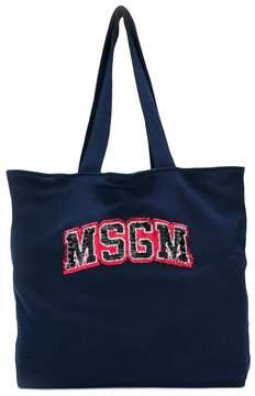 MSGM logo print tote