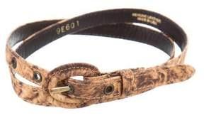 Oscar de la Renta Skinny Waist Belt