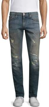 J Brand Tyler Slim Straight Distressed Jeans