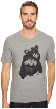 Life is Good Bear Growl Smooth Tee Men's Short Sleeve Pullover