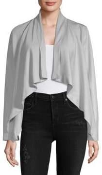Bagatelle Draped Hi-Lo Jacket