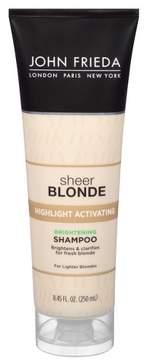 John Frieda Sheer Blonde Highlight Activating Enhancing Shampoo for Lighter Shades - 8.45oz