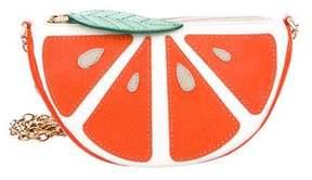 Dolce & Gabbana Orange Slice Shoulder Bag
