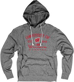 NCAA Men's Wisconsin Badgers Bomb Drop Hoodie