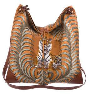 Hermes Silky City Tiger Royal Bag