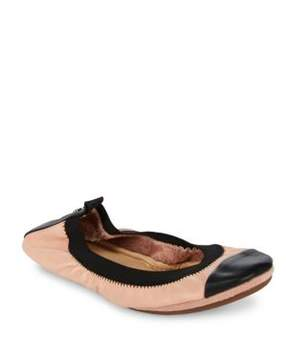 Yosi Samra Dress Leather Flat