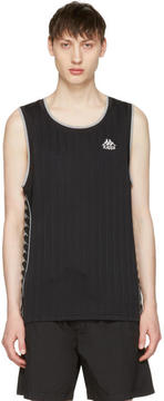 Kappa Black Deepdale Tank Top