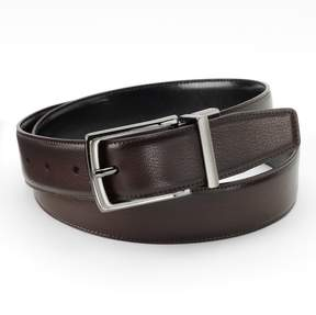 Apt. 9 Burnished Peak Reversible Faux-Leather Belt