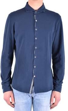 Peuterey Men's Blue Cotton Shirt.
