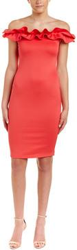 Blvd Off-The-Shoulder Sheath Dress
