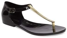Melissa Honey Chrome Thong Sandal