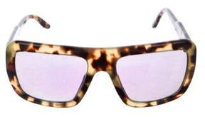 Stella McCartney Tortoiseshell Reflective Sunglasses