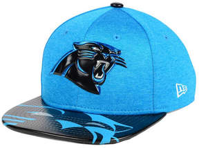 New Era Boys' Carolina Panthers 2017 Draft 9FIFTY Snapback Cap