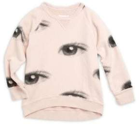 Nununu Girl's Eye Cotton Sweatshirt