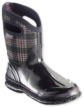 L.L. Bean Women's Bogs Classic Winter Boots, Mid Plaid