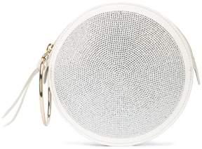 Sara Battaglia ring circle tote bag