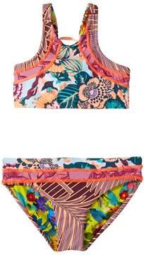 Maaji Kids Dusty Storm Bikini Set Girl's Swimwear Sets