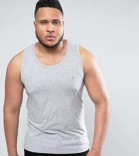 French Connection PLUS Plain Muscle Fit Tank