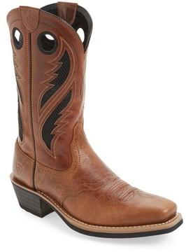 Ariat Men's Heritage Roughstock Venttek Cowboy Boot