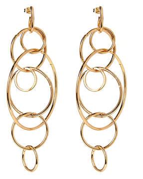 Amrita Singh Goldtone Anisa Drop Earrings