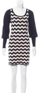 ALICE by Temperley Patterned Knit Dress