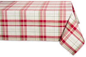 Design Imports Orchard Plaid Table Cloth 60″ x 104″ – Red