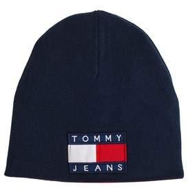 Tommy Hilfiger Men's Au0au00080901 Blue/red Cotton Hat.